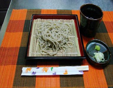 会津磐梯の打ち立て蕎麦
